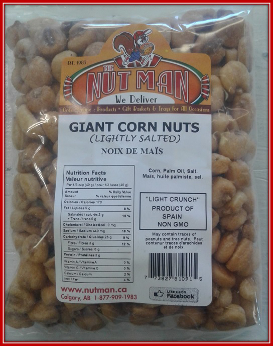 Giant Corn Nuts