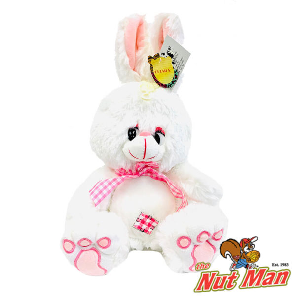 Embroidered Easter Bunny Plushie