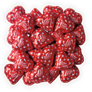 CHOCOLATE DOUBLE CRISP HEARTS
