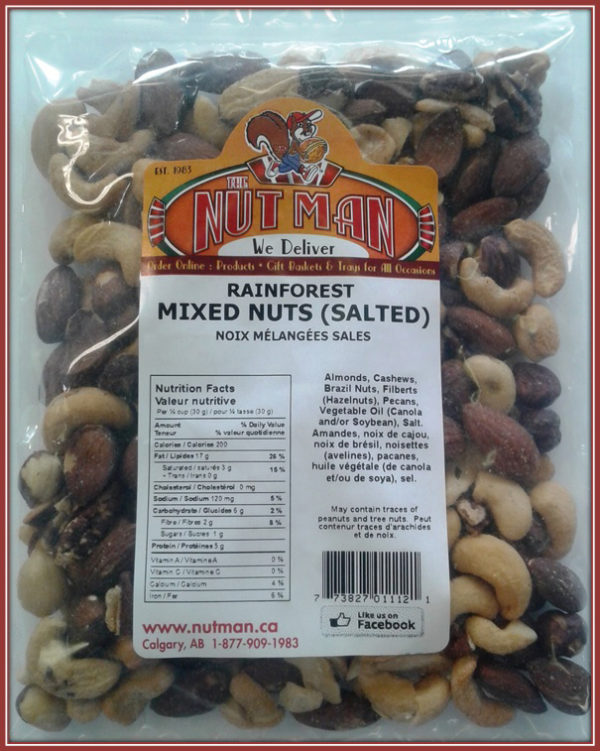 Rainforest Mix Nuts (Salted)