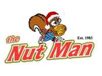 The Nut Man Christmas Logo