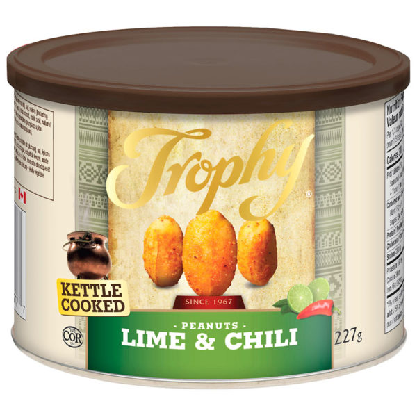 TROPHY LIME AND CHILI PEANUTS